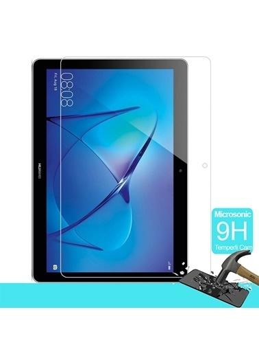 Microsonic Huawei MediaPad T5 10'' Temperli Cam Ekran koruyucu Renksiz